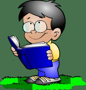 Frederik læser i sin kontaktbog