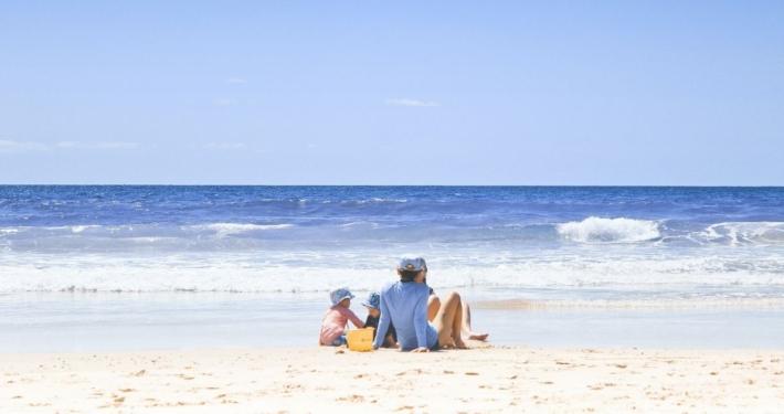 Skilsmisseboern ferie